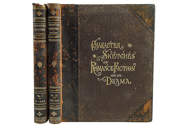 Character Sketches of Romance, 2 Volumes Books