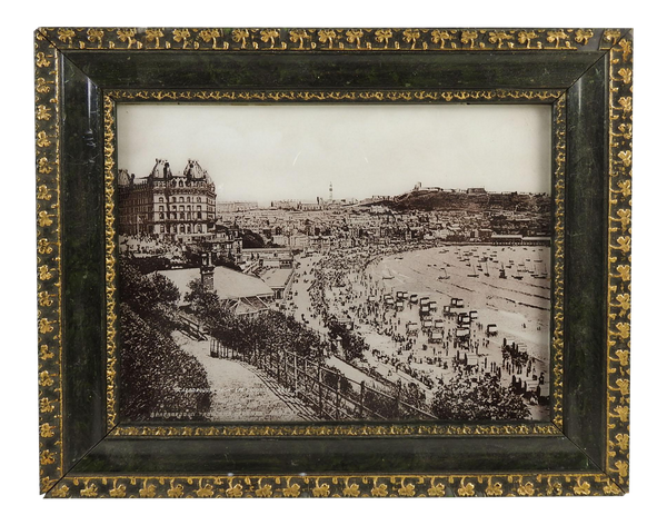 Scarborough Spa Coastal England Antique Photograph