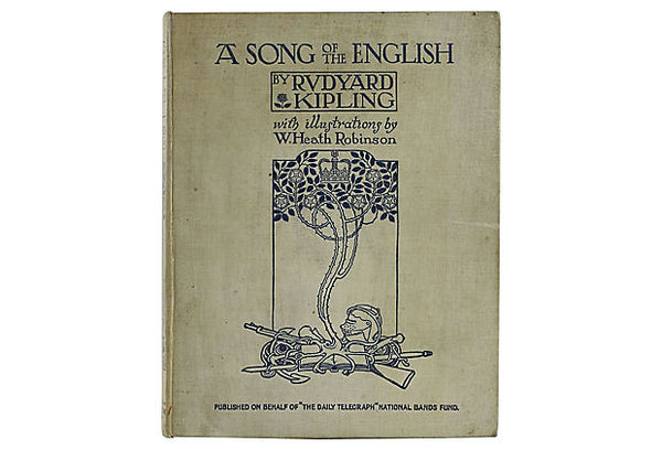 A Song of the English by Rudyard Kipling 1915