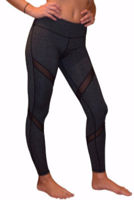 NEW Aznive Mesh Yoga Pants (Gray)
