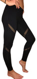 Aznive Mesh Leggings - Black