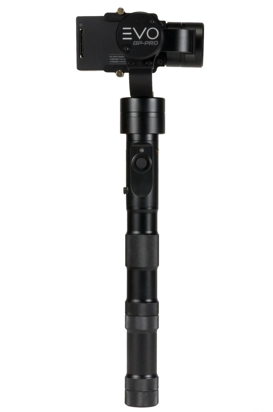 EVO GP-Pro gimbal for GoPro Backside