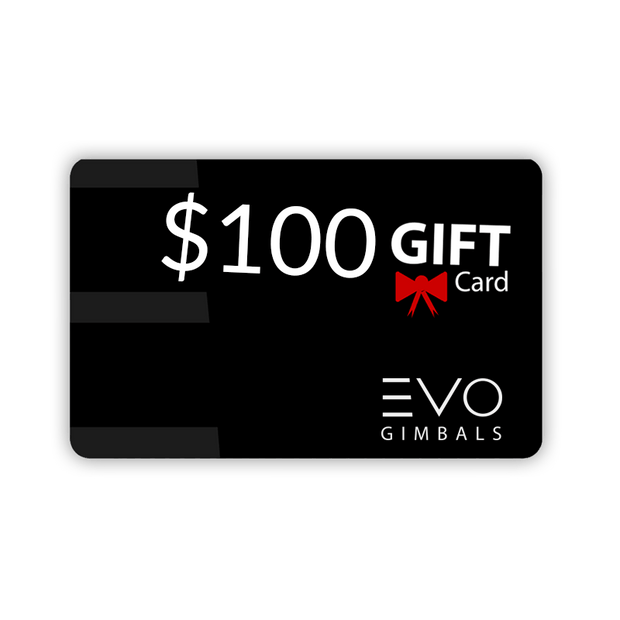 Black Friday Gift Card Gift Card BFCM EVO Gimbals $100.00