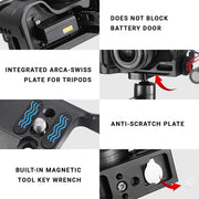 C-M6 Vlog Rig Cage for Canon M6 Mark II Mounts Ulanzi