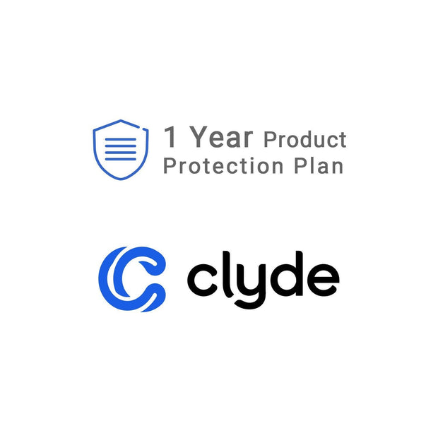 Clyde Product Protection Plan Clyde Service Contract Clyde <$100 1 Year