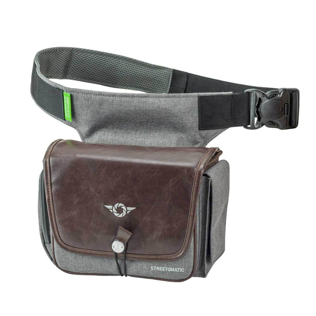 Cosyspeed CAMSLINGER Streetomatic+ Camera Bag Camera Bags Cosyspeed Brown-Grey