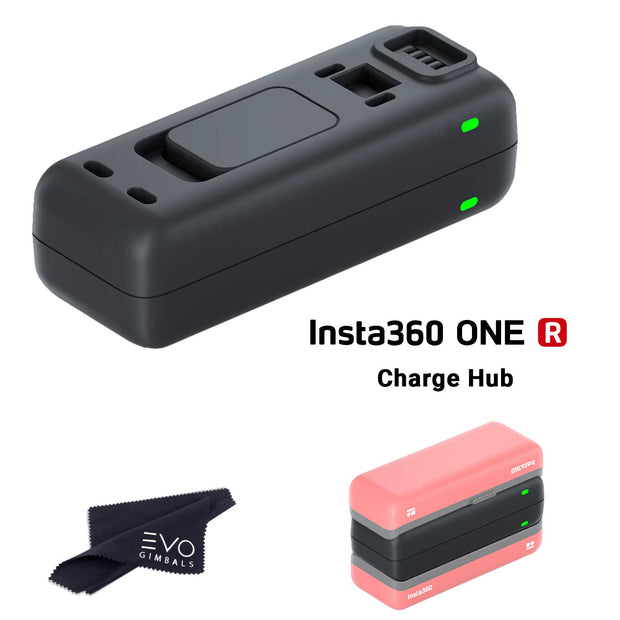 Insta360 ONE R Fast Charge Hub - Dual Battery Base Charger Batteries Insta360