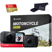 Insta360 ONE R Twin Edition Bundle with Motorcycle Mounting Kit 360 camera Insta360 128GB
