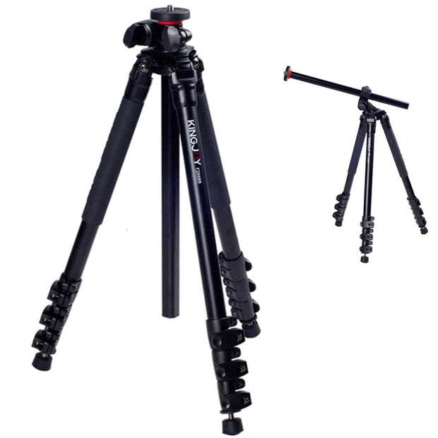 KingJoy F2008R Tripod with 180 Tilt Column Tripod Kingjoy