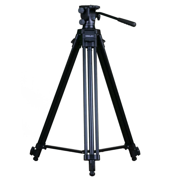 Kingjoy VT-2100L Video Tripod with Fluid Head Tripod Kingjoy