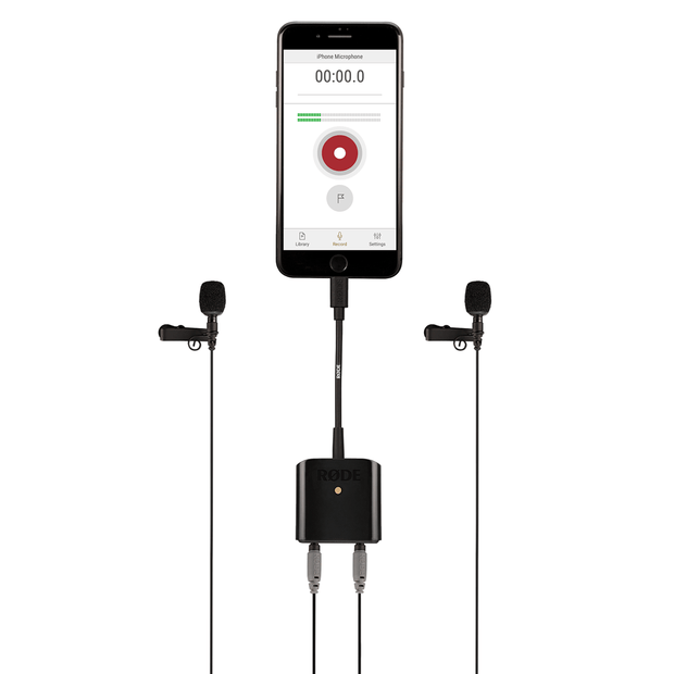 RODE SC6-L Mobile Interface for Apple Devices Microphone RODE