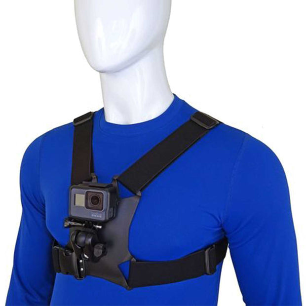 Stuntman Chest Mount Harness for Action Cameras Mounts Stuntman