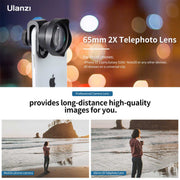 ULANZI 65mm Telephoto Lens for Smartphones Lens Ulanzi