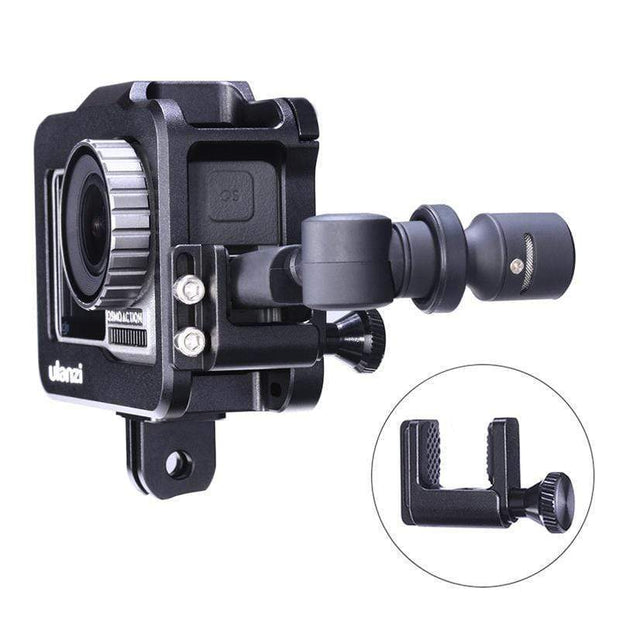ULANZI OA-1 Osmo Action Cage Clip for Microphone Adapter Mounts Ulanzi