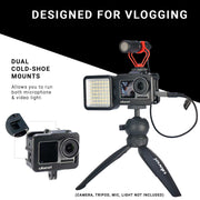 ULANZI Vlog Cage for DJI Osmo Action Camera Cages Ulanzi