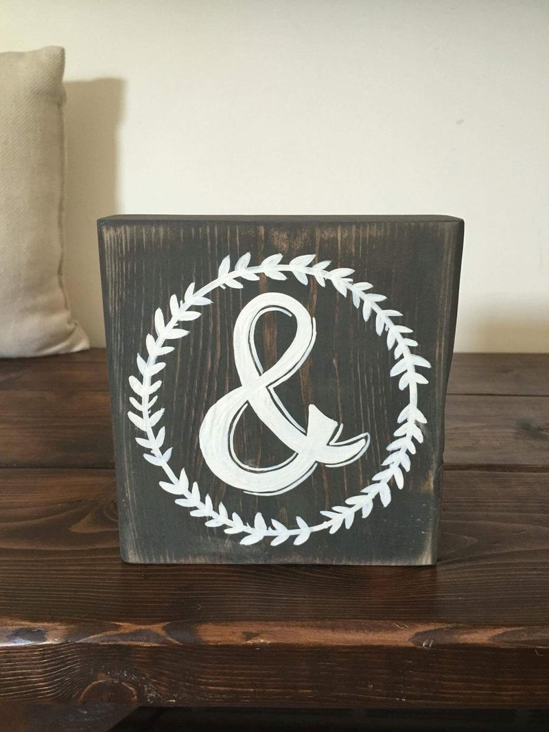 Ampersand Small Block