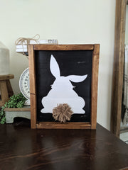 Bunny Butt Spring Easter Sign