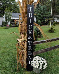 Halloween Trick or Treat 6ft Porch Signs