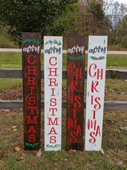 Merry Christmas Indoor/Outdoor Sign