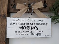 Making Memories Sign