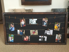 Memo Board and Photo Display
