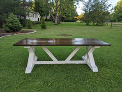 X Base Dinning Room Table