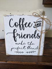 Coffee and Friends Block