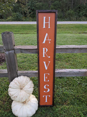 Farmed Harvest Sign