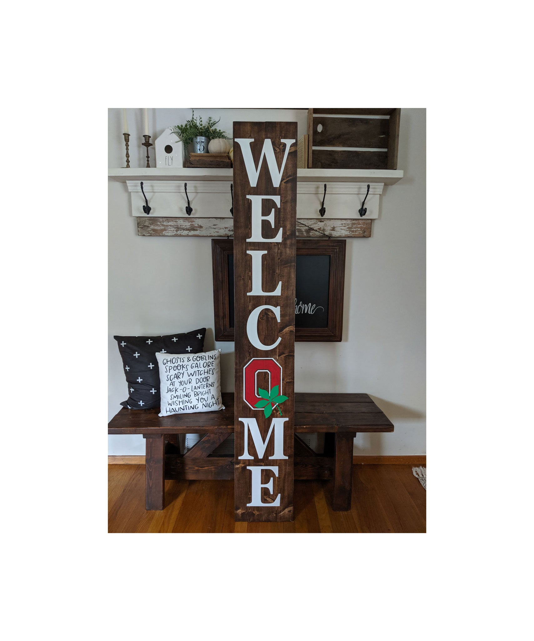 American Family Furniture Aurora Co: Ohio State Welcome Sign