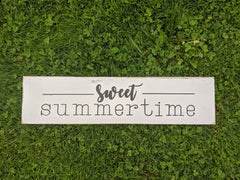 Summertime Rustic Signs