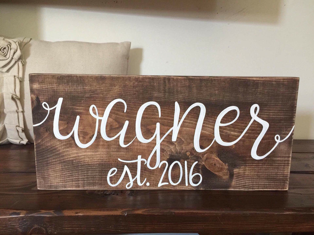Custom Name Sign, Small