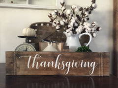 Thanksgiving Wood Sign