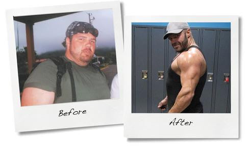 Choices - NXTLVL Trainer, Nic Foxon lost 140lbs