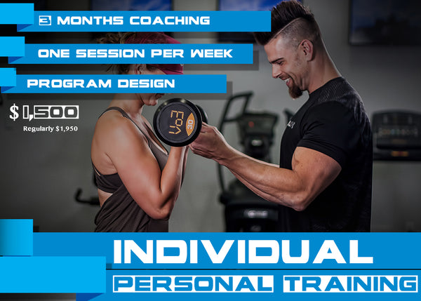 3 Month Package - Individual Personal Training with Alan Dyck