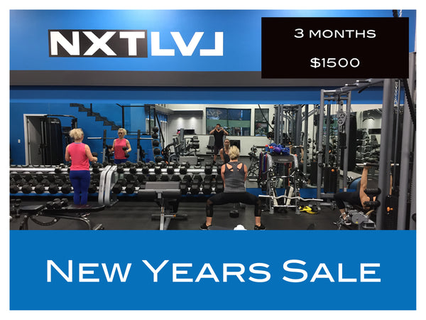 WELCOME TO 2021! 3 Month NEW YEARS SALE