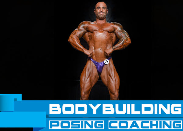 Bodybuilding Posing Lessons