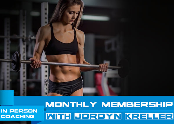 Monthly Personal Training Subscription with Jordyn Kreller