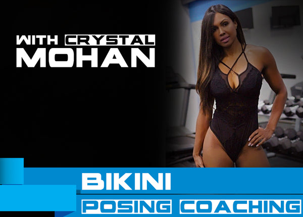 Bikini Posing Lessons with Crystal Mohan
