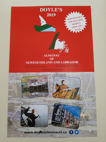 Doyle's 2019 Almanac of Newfoundland and Labrador is now available