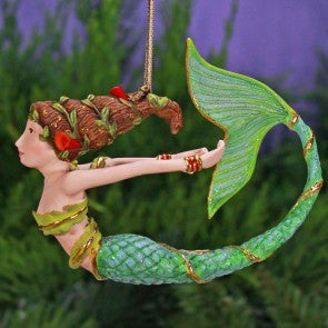 Mercy Mermaid Ornament by Patience Brewster, nautical, beach christmas ornament