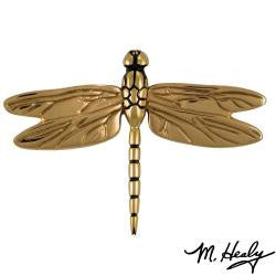 Brass Dragon Fly Door Knocker, Unique Nautical Home Decor