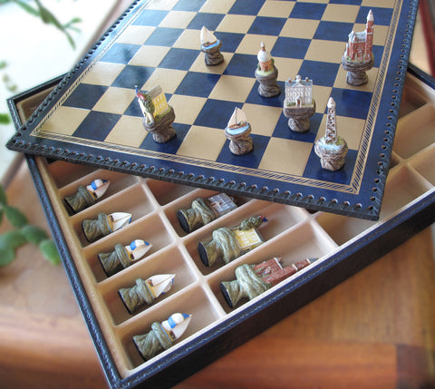 Marblehead Themed Chess Set