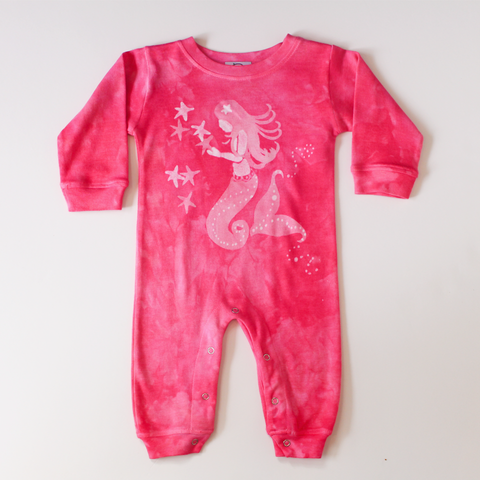 Marblehead.Works Baby Clothes Mermaid Romper