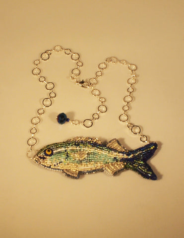 Bluefish Necklace