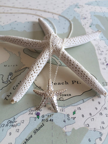 Marblehead.Works Starfish Necklace by Patsy Kane
