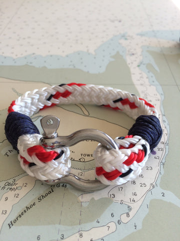 Marblehead.Works Nautical Yacht Braid Rigger Bracelet by Patsy Kane