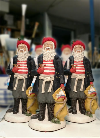 Nautical Santa Figurine