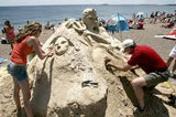 July 4th Sand Sculpture Contest