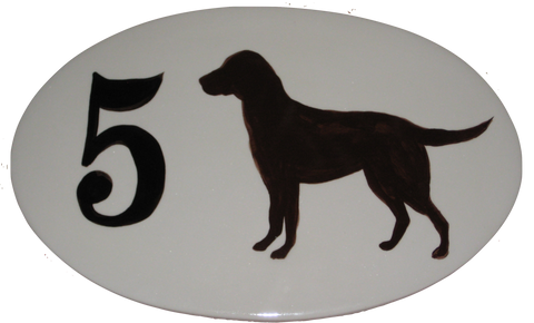 Black Dog Themed Customized House Plaque, home and garden, Nautical, coastal