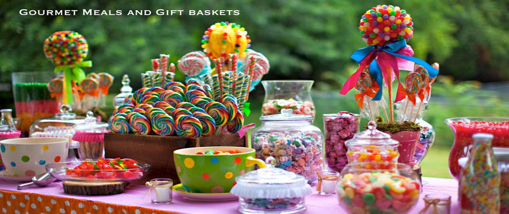 Candy Gift baskets Mother's Day Get Well Camper Care Packages